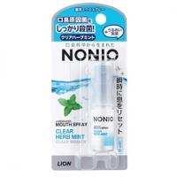 日本獅王-NONIO終結口氣噴劑(冰炫薄荷)