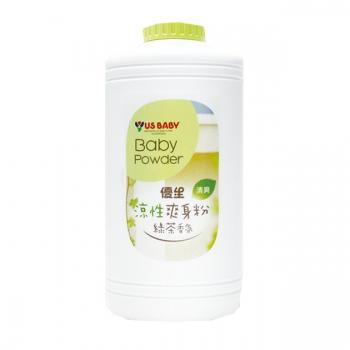 優生-涼性爽身粉(綠茶香氛味)