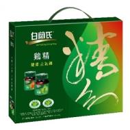 白蘭氏-健康元氣禮盒(雞精x6+冬蟲x2)