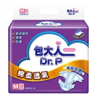 包大人-棉柔透氣成人紙尿布(M)